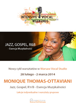 Intensive Vocal Weekends z Monique Thomas-Ottaviani